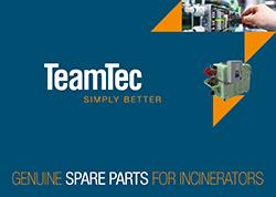 Spares Teamtec Incinerator