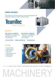 Teamtec Maskinering