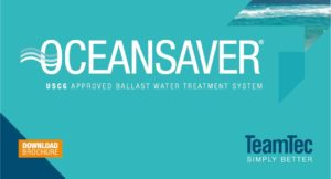 Oceansaver Ballast water treatment system