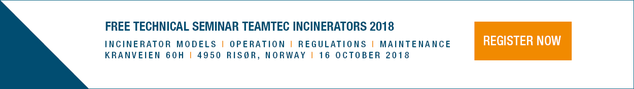 Technical seminar TeamTec Incinerators