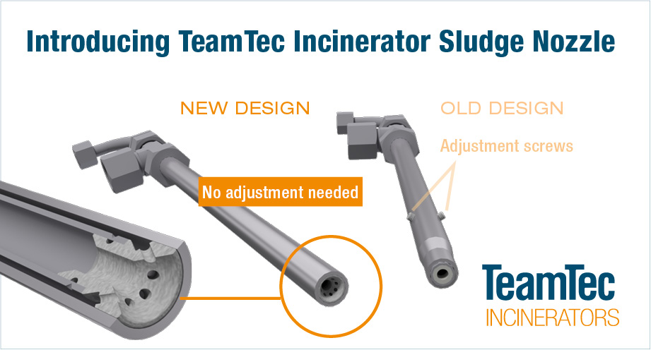 TeamTec Incinerator Sludge Nozzle